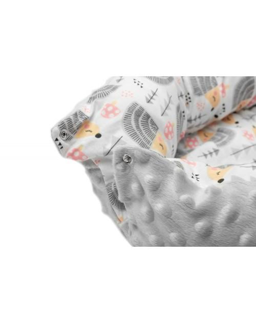 Hniezdo pre bábätko Šedí ježkovia
