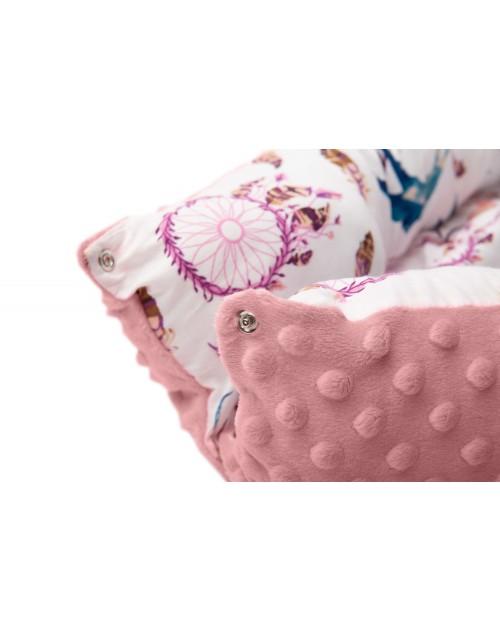 Hniezdo pre bábätko Ružové lapače snov