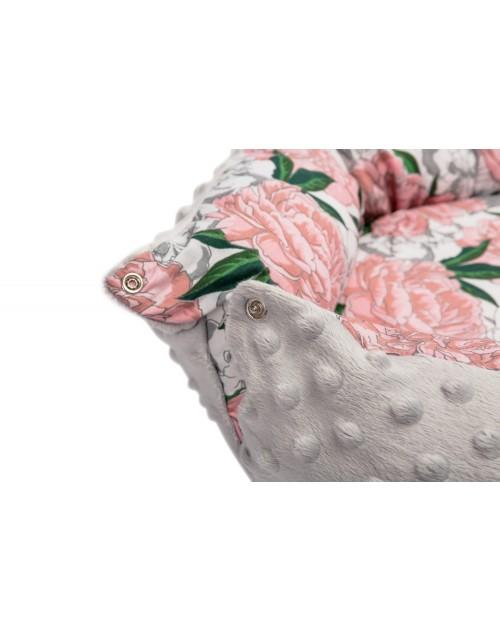 Hniezdo pre bábätko Šedé s ružami