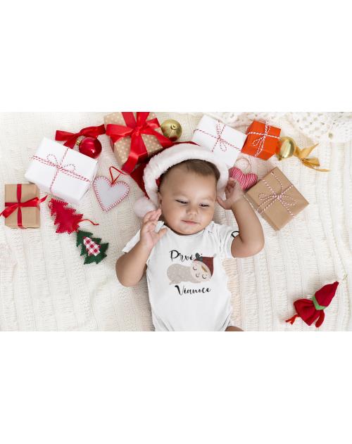 Detské body na Vianoce spinká