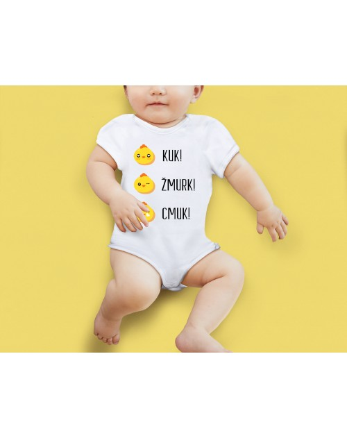 Nádherné Detské body Kuk, žmurk, cmuk vaše dieťatko