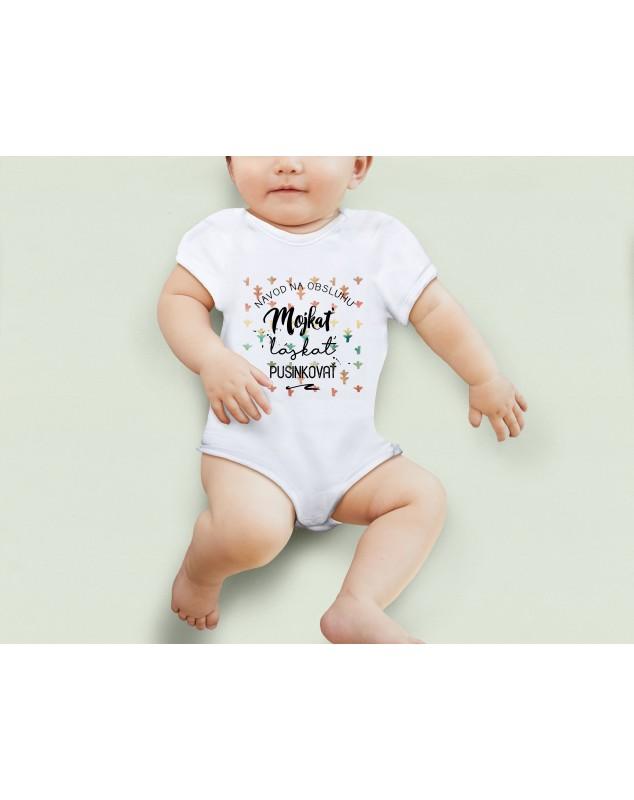 Nádherné Detské body Mojkať, láskať, pusinkovaťt pre vaše dieťatko