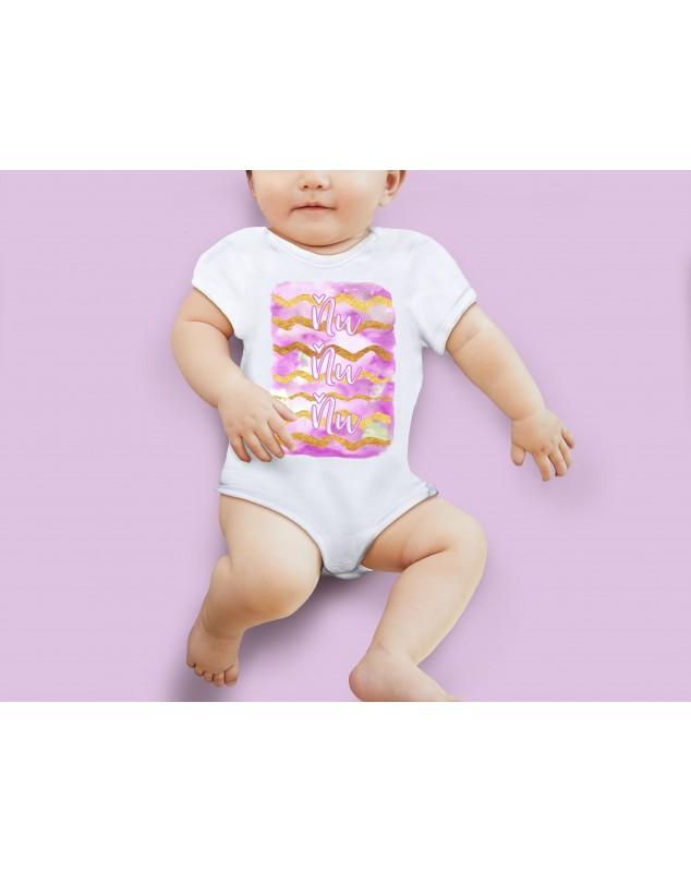Nádherné Detské body Ňuňu pink pre vaše dieťatko