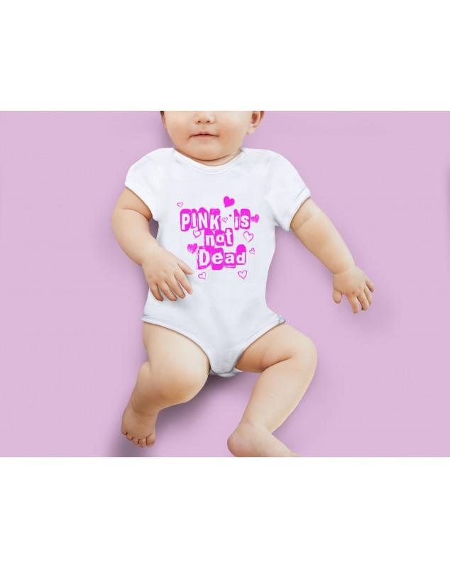 Nádherné Detské body Pink is not dead pre vaše dieťatko