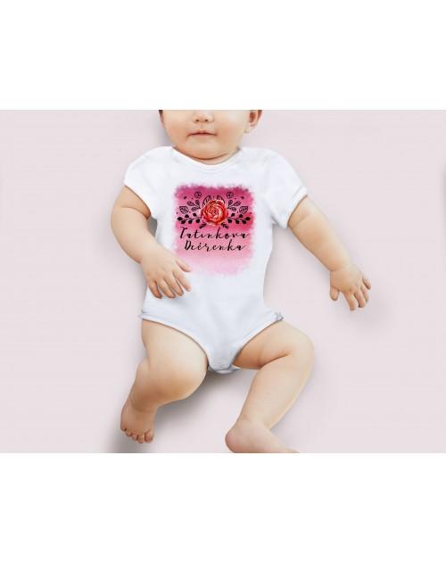 Nádherné Detské body Tatinkova dcérenka pre vaše dieťatko