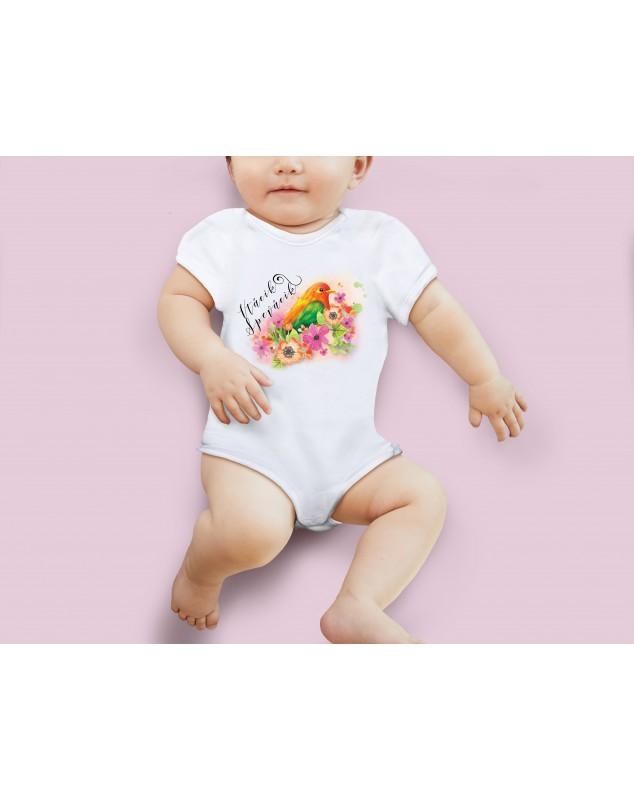 Nádherné Detské body Vrabček pre vaše dieťatko