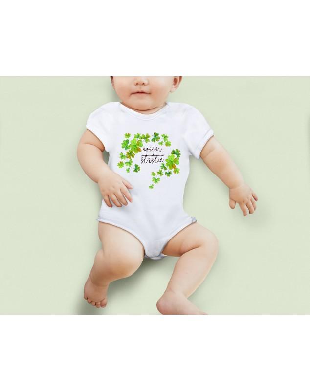 Nádherné Detské body Nosím šťastie pre vaše dieťatko