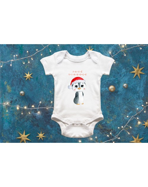 Detské body Vianočné s tučniačikom 2